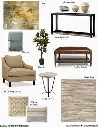 jill seidner interior design concept boards
