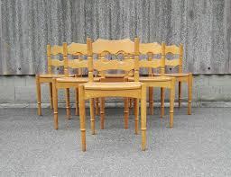 danish dining room table danish dining chairs by henning kjaernulf for eg kvalitetsmobel