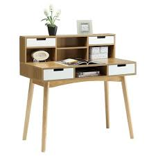 target desk with hutch oslo writing desk with hutch brown convenience concepts target