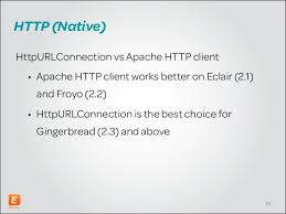 android httpurlconnection effective android messaging