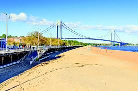 best beaches near nyc from south beach to jacob riis park