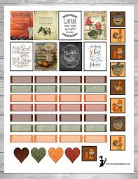 fun thanksgiving songs free thanksgiving themed planner sticker printable