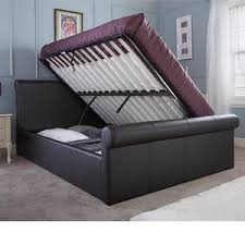 Leather Ottoman Bed Ottoman Storage Beds Next Day Delivery Bedstar