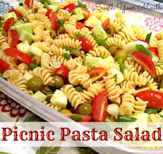 cold pasta salad dressing south your mouth picnic pasta salad