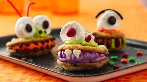 not so scary monster cookies pillsbury com