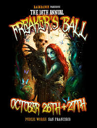 ra freaker u0027s ball halloween costume party at public works san