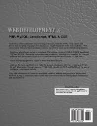 web development in php mysql javascript html u0026 css step by