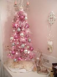 accessories interesting pink christmas decorating ideas home