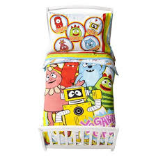 Yo Gabba Gabba Bed Set Yo Gabba Gabba Bedding Set Toddler Gift Ideas
