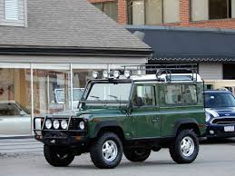 green station wagon 1997 land rover defender 90 station wagon copley motorcars