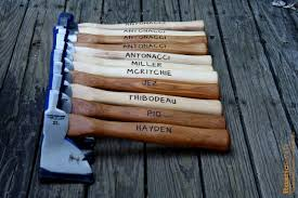 personalized axe engraved hatchet fathers day gift