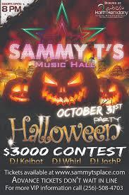 club music sammy t u0027s music hall halloween
