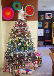 older and wisor a unicorn christmas tree they don u0027t believe in