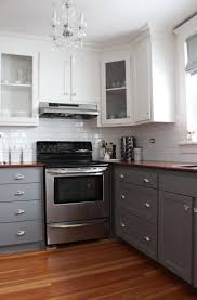 kitchen cabinets ideas photos two toned kitchen cabinets pinterest home design ideas
