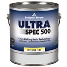 Interior Flat Paint Benjamin Moore Ultra Spec 500 Interior Paint Flat Finish N536