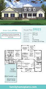 2 car garage sq ft 67 best ranch style home plans images on pinterest ranch house