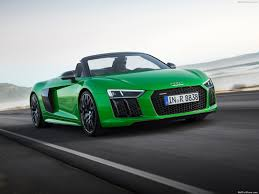 audi r8 chrome blue audi r8 spyder v10 plus 2018 pictures information u0026 specs