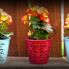 personalized flower pot best friend gift 20 oz personalized wine from sammieslettering