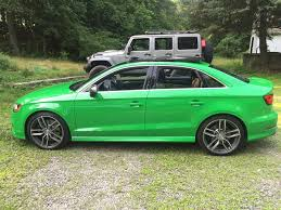 bentley racing green vwvortex com 2015 audi s3 exclusive edition viper green 1 of 5