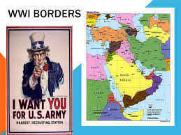 Ottoman Empire Israel Wwi Borders Countries Involved Ottoman Empire Britain