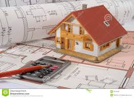 house building plan stock image image 9512941
