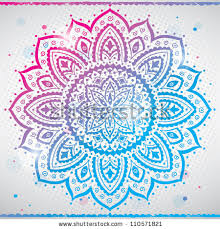 color indian ornament stock vector 110571821 stock