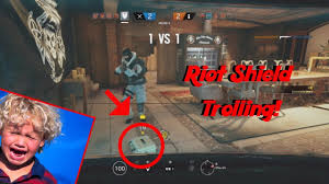 Rainbow Six Siege How To Kill A Shield Rainbow Six Siege Moments Trolling With Riot Shields Shield