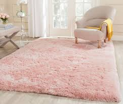 Round Flower Rug by Pink Shag Arctic Shag Collection Safavieh Com