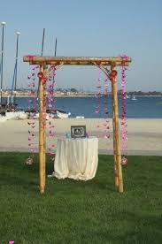 bamboo wedding arch bamboo wedding arch picture of catamaran resort hotel and spa