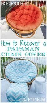 papasan chair cover 25 best chair cushion covers ideas on outdoor chair