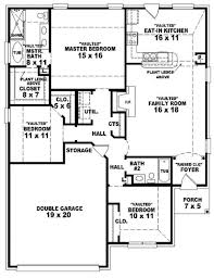 Two Bedroom Floor Plan by 100 Two Bedroom House Floor Plans Guest House 30 U0027 X 25