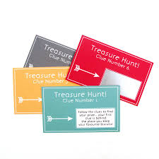 personalised treasure hunt scratch card game by sarah hurley