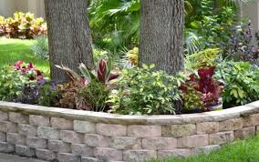 front yard retaining wall barefootinfloridawithjulie com
