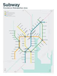 Marta Rail Map What If Providence Subway Map Oh Man If This Were A Real Thing