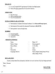 standard resume format for engineers mechanical engineer resume