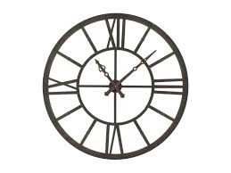 wall mounted steel clock factory led by kare design