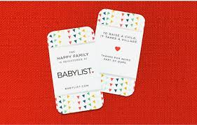 photo insert cards babylist insert cards chicken