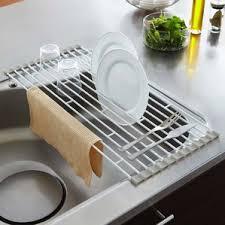 Kitchen Plate Rack Wayfair - Kitchen sink dish rack