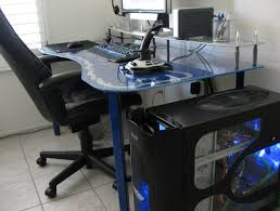 Gaming Desk Custom Pc Gaming Desk Home Design Ideas