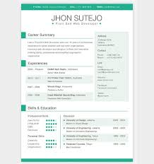 cool resume template 28 free cv resume templates html psd indesign