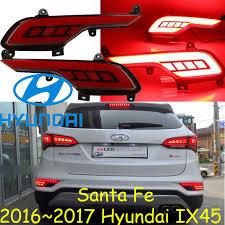 hyundai santa fe tail light assembly 2017 2018year santa fe ix45 tail light led free ship 2pcs ix45 rear