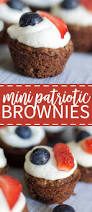 mini patriotic brownies what molly made