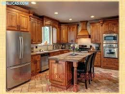 dark wood cabinet kitchens types of wood cabinets titok info