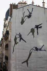 594 best street art images on pinterest street art urban art str k strikes a new angle on his stencil figures in paris brooklyn street art