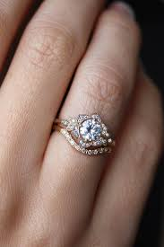 wedding band ideas 15 ideas of custom wedding band to fit engagement rings