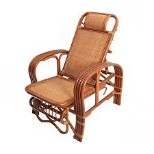 ivy classic vintage wicker chair recliner rocking chair indonesian