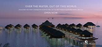 the palafitos overwater bungalows at el dorado maroma bursch