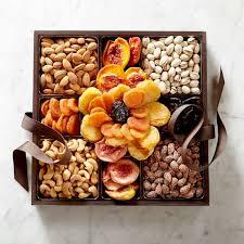 fruit gift box dried fruit nut flower gift box williams sonoma