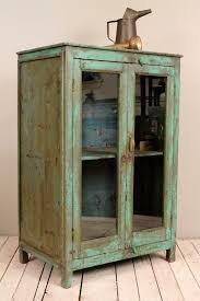 Antique Storage Cabinet Antique Kitchen Cupboard Storage Cabinet Armoire Indian Blue Farm