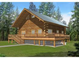 log homes with wrap around porches rockport peak log home plan 088d 0054 house plans and more
